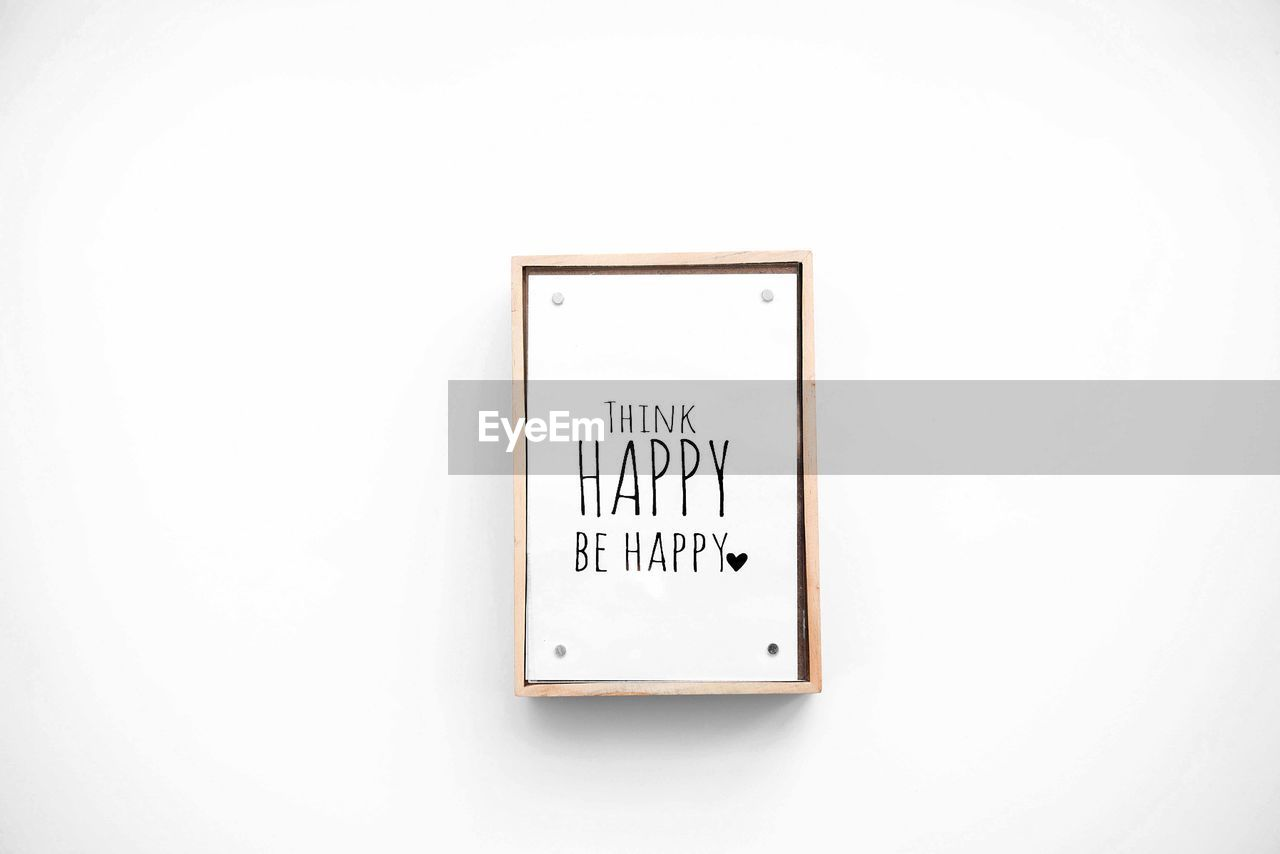 text, western script, copy space, communication, studio shot, white background, no people, indoors, close-up, information, wall - building feature, white color, architecture, script, sign, white, single object, board, wall, non-western script, message