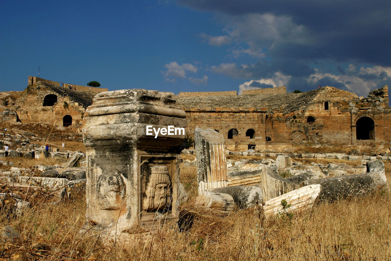 history, the past, sky, architecture, built structure, ancient, old ruin, building exterior, ancient civilization, day, nature, travel destinations, tourism, old, travel, no people, building, archaeology, damaged, ruined, outdoors, ancient history
