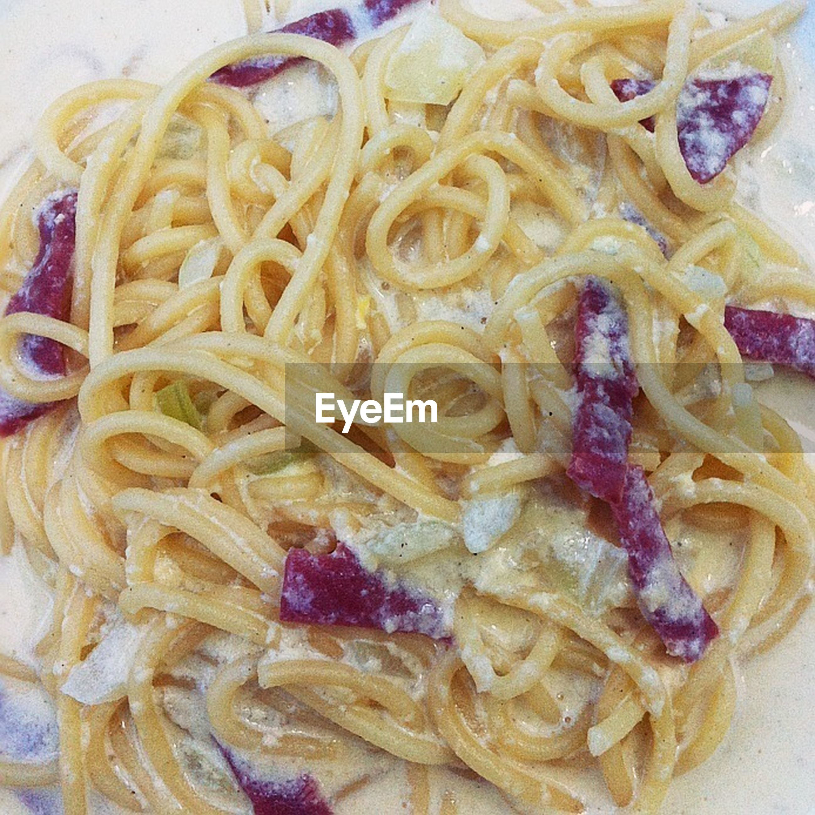 food, food and drink, indoors, freshness, ready-to-eat, still life, close-up, pasta, healthy eating, plate, indulgence, noodles, meal, italian food, serving size, high angle view, temptation, no people, bowl, homemade