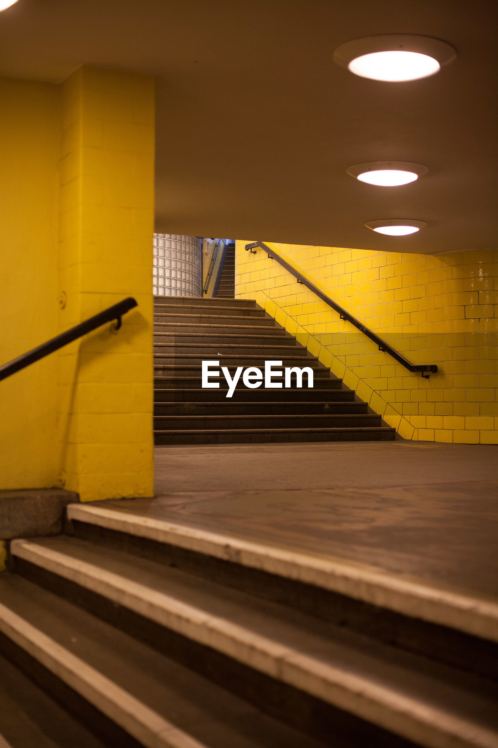 STAIRCASE OF SUBWAY