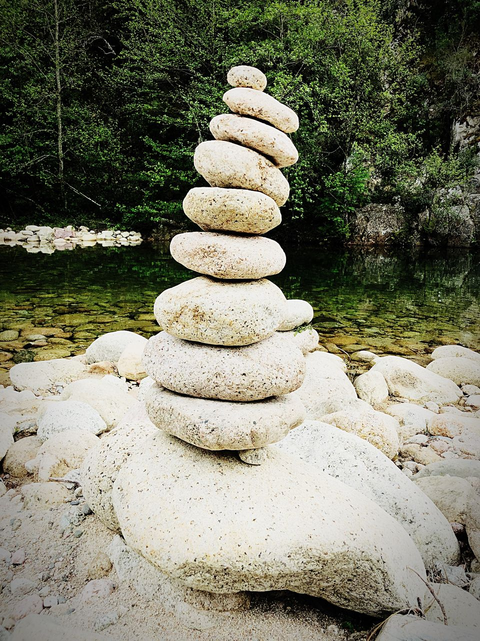 stack, balance, solid, rock, stone - object, zen-like, rock - object, stone, pebble, tranquility, nature, water, no people, beauty in nature, day, land, plant, tranquil scene, outdoors