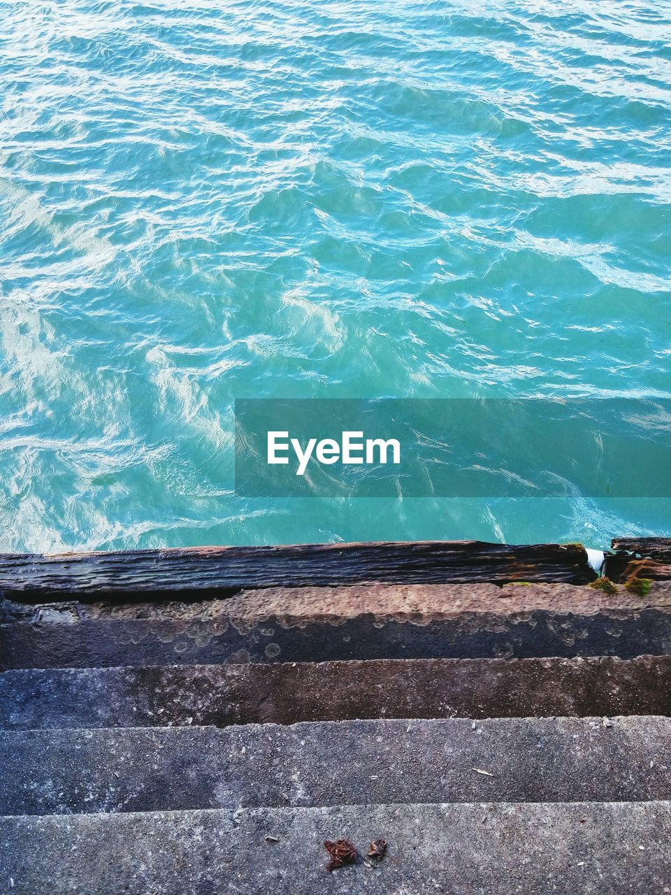 water, high angle view, day, no people, outdoors, sea, sunlight, nature