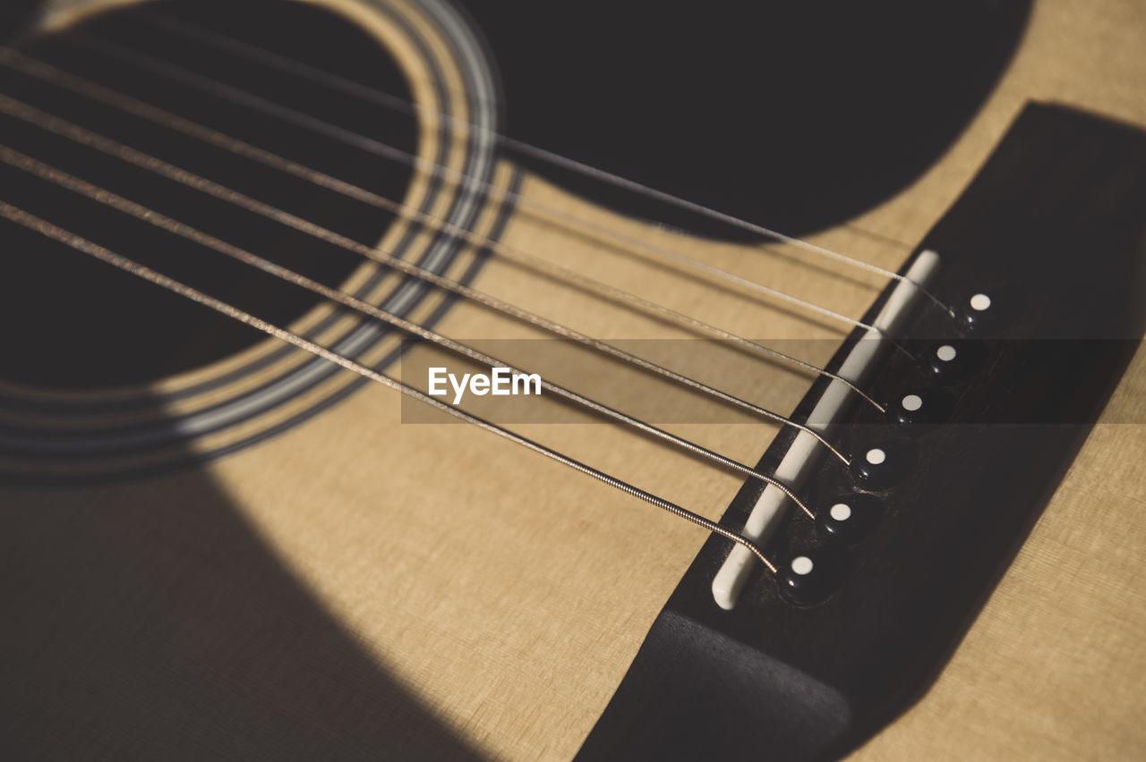Full frame shot of guitar