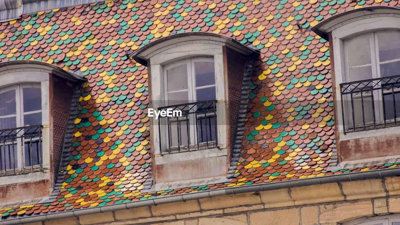 MULTI COLORED COLORFUL BUILDING
