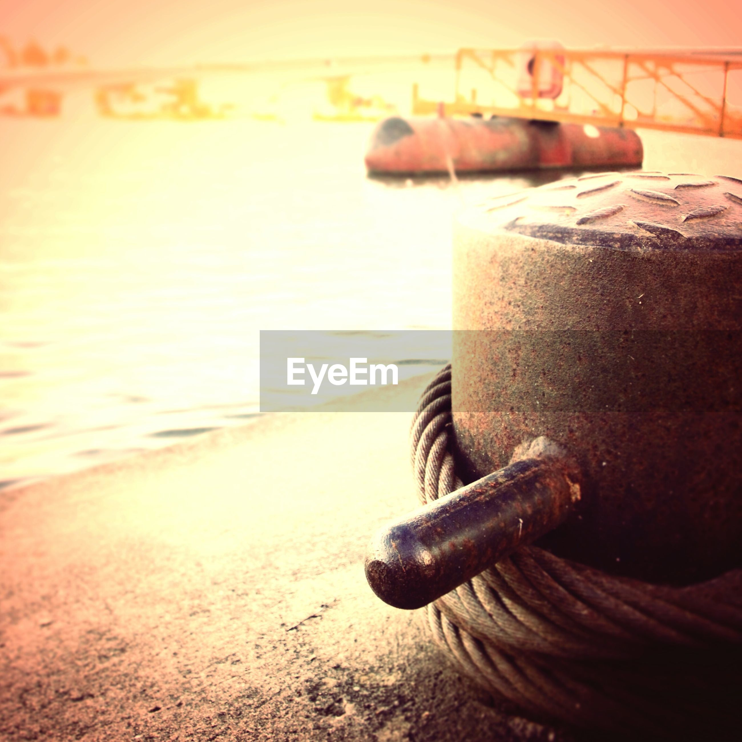 metal, water, close-up, focus on foreground, transportation, nautical vessel, rusty, mode of transport, boat, sea, metallic, no people, sunset, outdoors, part of, old, abandoned, day, moored, single object