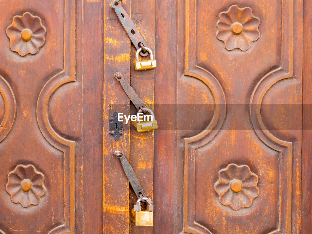 entrance, door, wood - material, old, close-up, full frame, brown, no people, safety, protection, lock, metal, doorknob, security, day, backgrounds, closed, weathered, handle, wood, ornate, antique