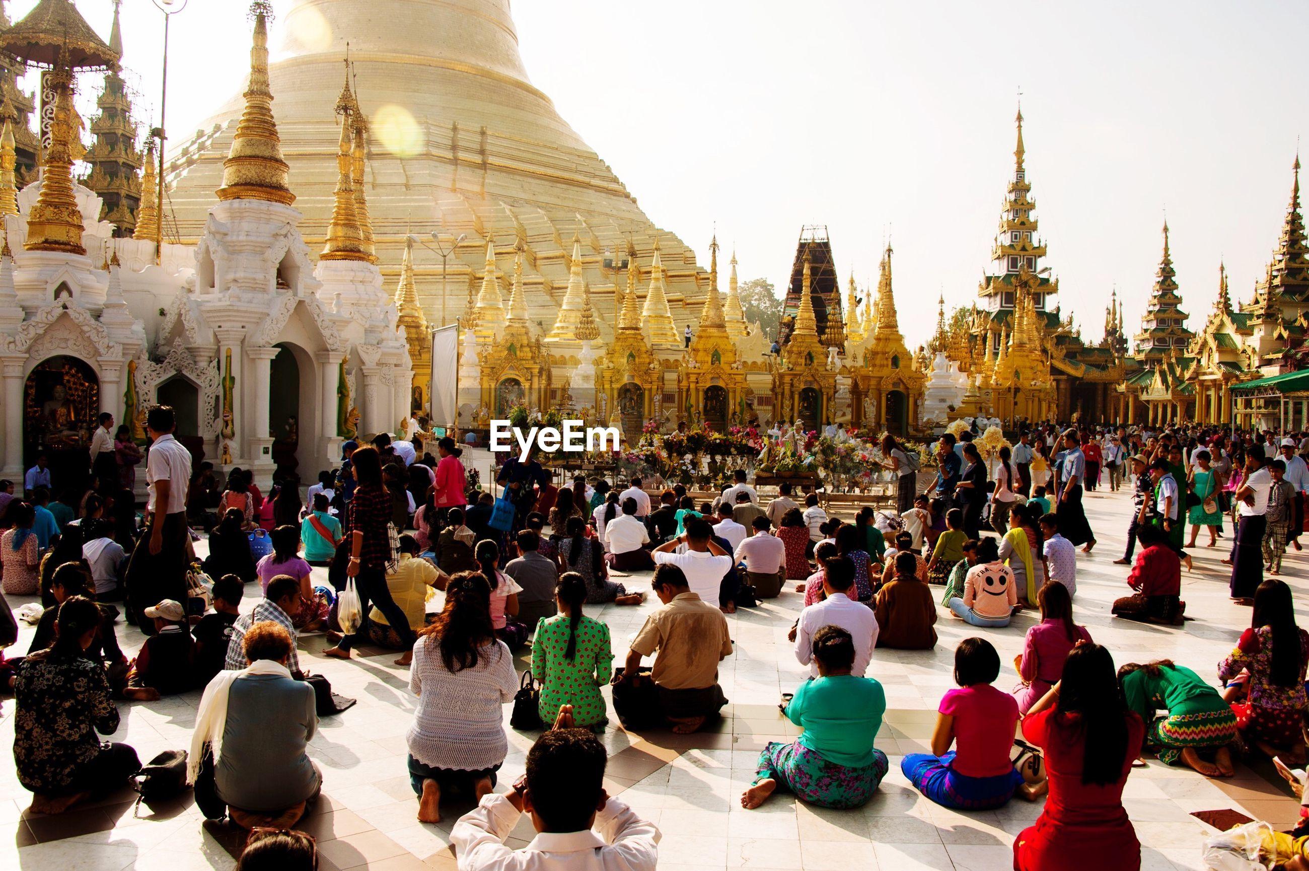 Schwedagon pagoda - yangon - myanmar