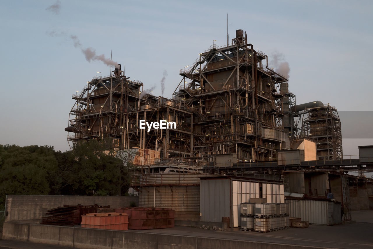 VIEW OF FACTORY