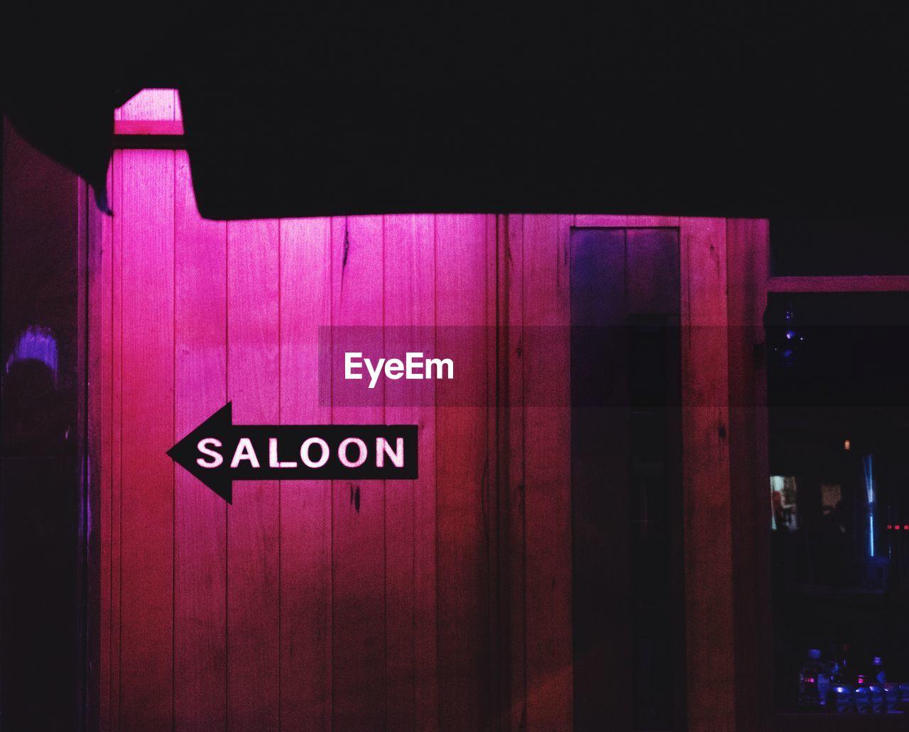 text, western script, communication, no people, illuminated, indoors, night, close-up