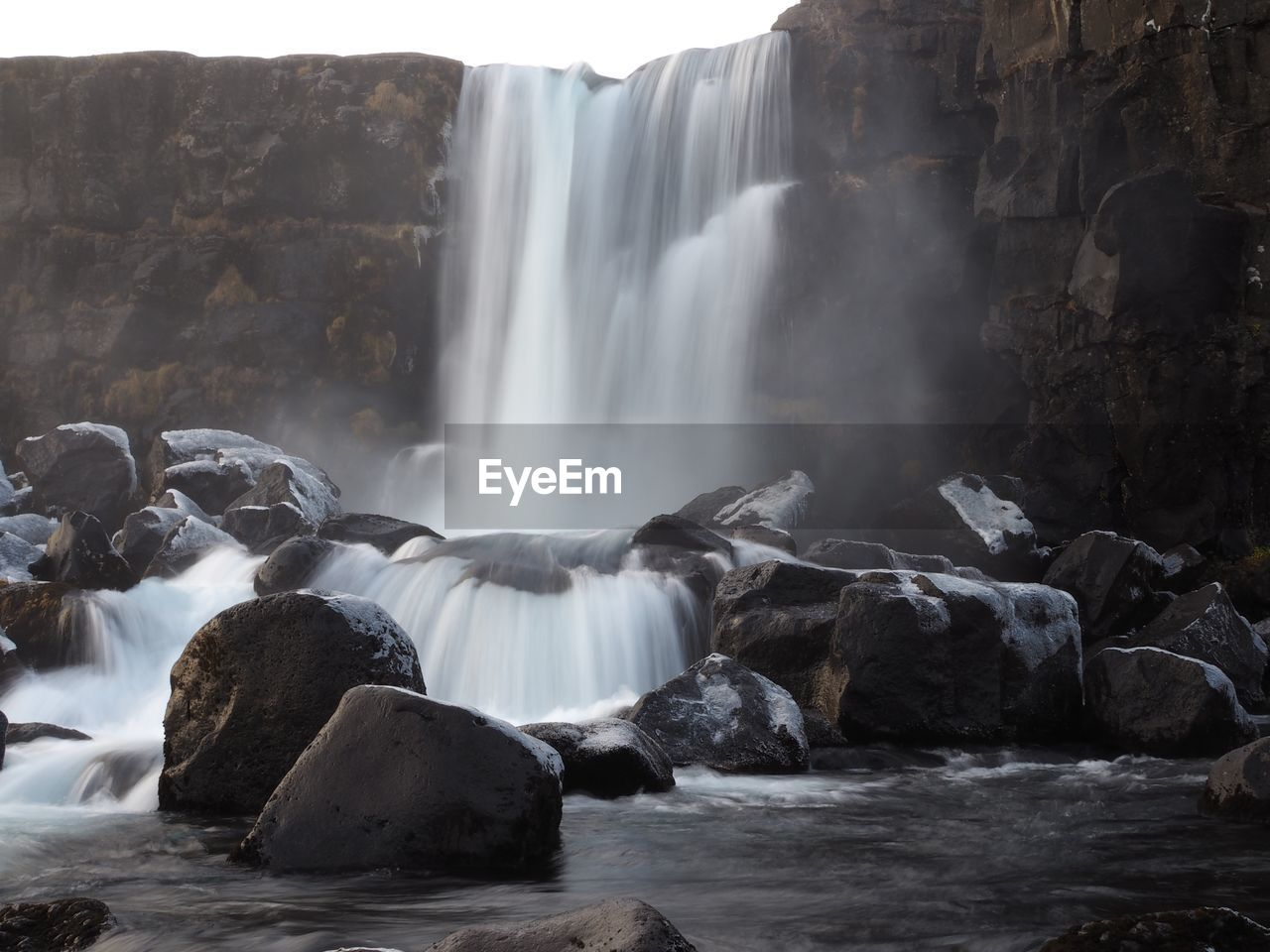 water, waterfall, scenics - nature, motion, flowing water, long exposure, rock, rock - object, beauty in nature, blurred motion, solid, nature, no people, flowing, day, splashing, power in nature, environment, travel destinations, outdoors, falling water, running water