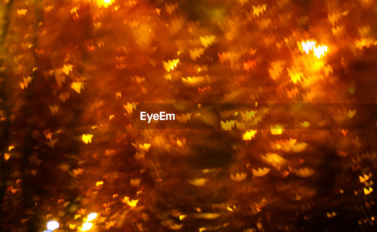 defocused, flame, night, no people, backgrounds, full frame, yellow, outdoors, close-up, nature
