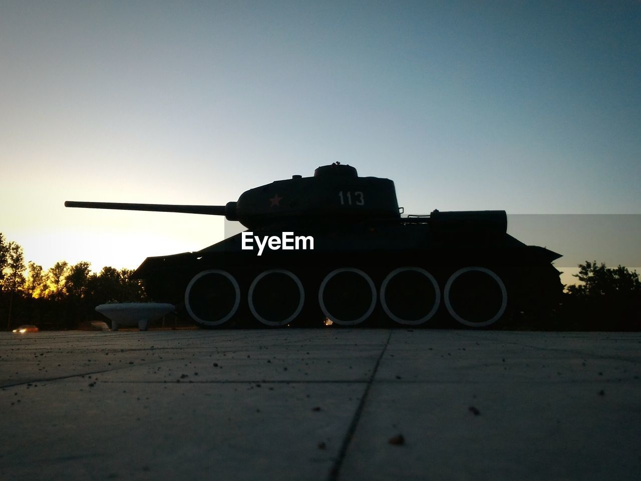weapon, clear sky, history, military, war, outdoors, sunset, no people, army, day, sky, nature