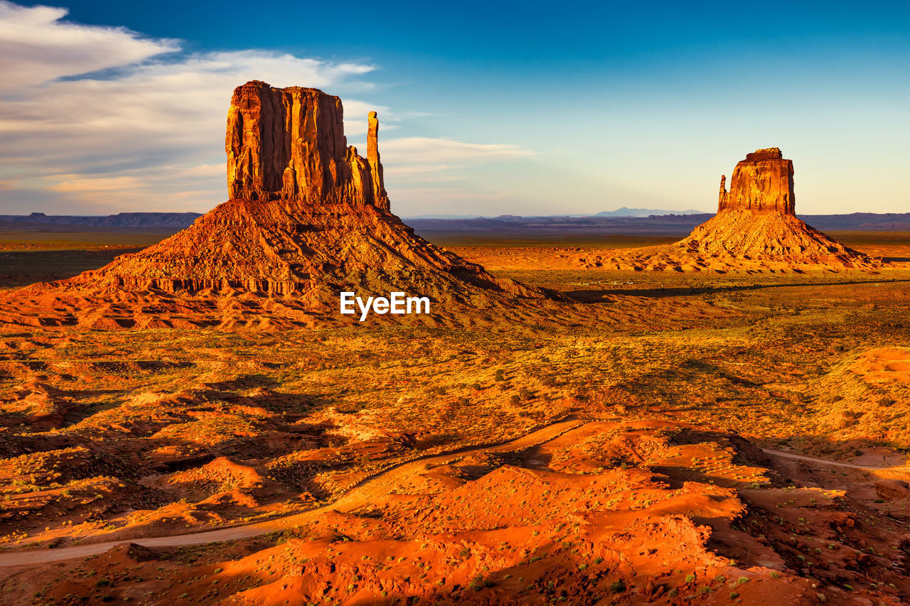sky, scenics - nature, tranquil scene, beauty in nature, rock formation, rock, rock - object, tranquility, landscape, non-urban scene, cloud - sky, physical geography, solid, environment, no people, nature, geology, land, idyllic, travel destinations, arid climate, climate, outdoors, eroded, formation