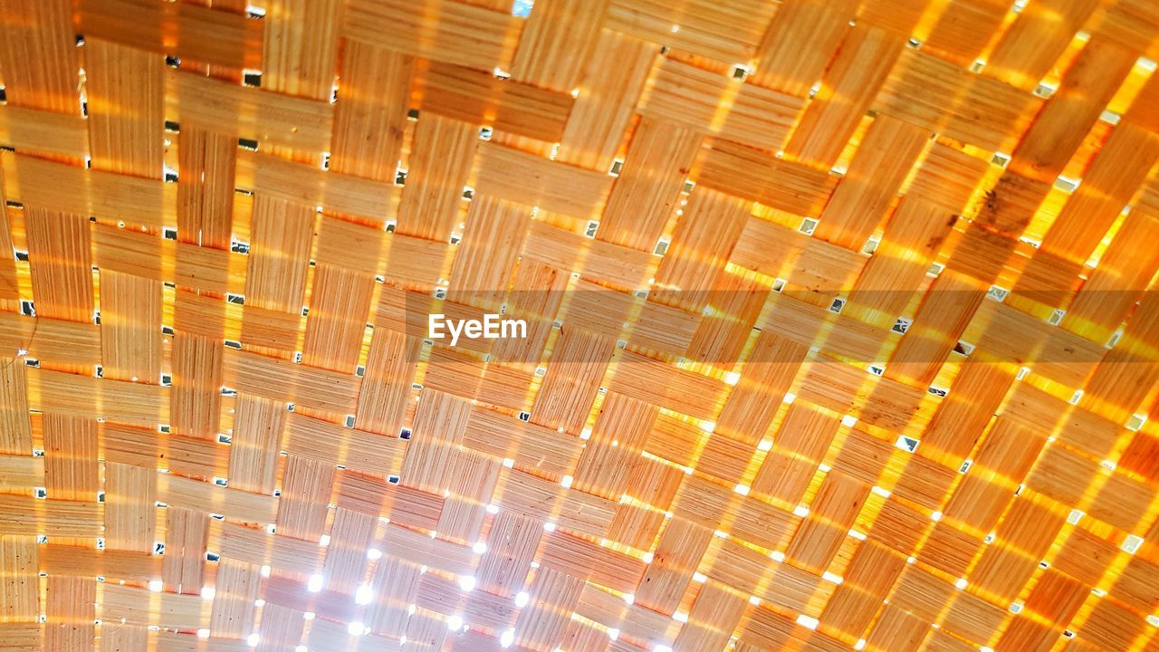 illuminated, pattern, backgrounds, full frame, indoors, no people, lighting equipment, orange color, light - natural phenomenon, glowing, ceiling, flooring, architecture, abstract, light, design, built structure, multi colored, in a row, night