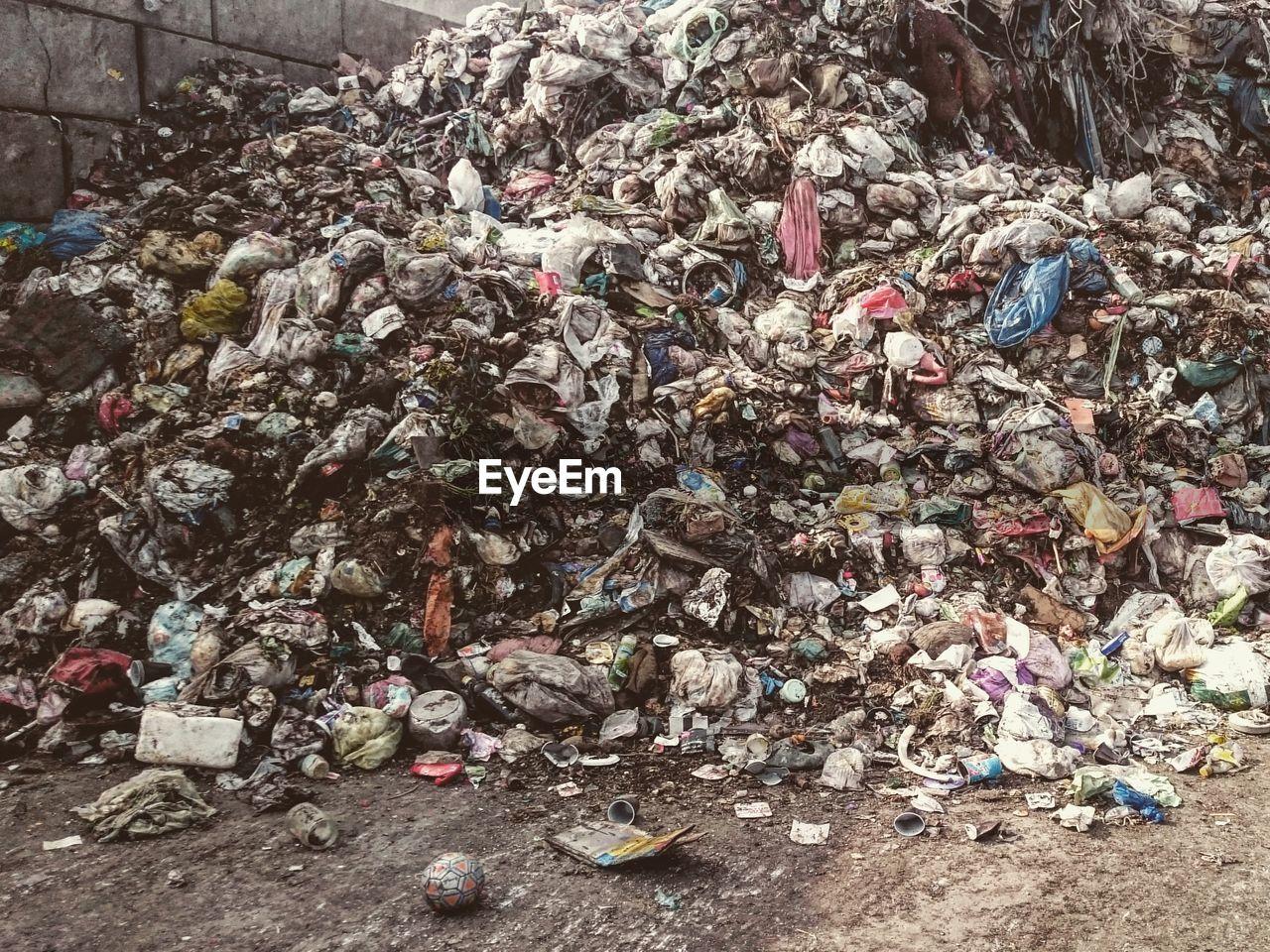 Stack of garbage