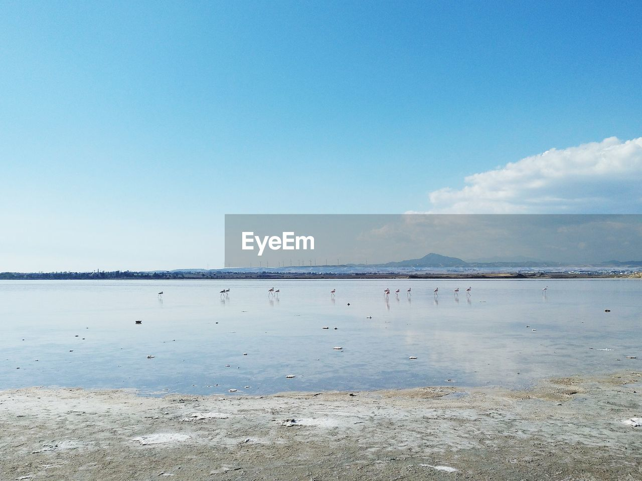 sky, water, scenics - nature, beauty in nature, tranquility, tranquil scene, copy space, blue, sea, day, nature, non-urban scene, cloud - sky, beach, land, no people, idyllic, outdoors, horizon, salt flat