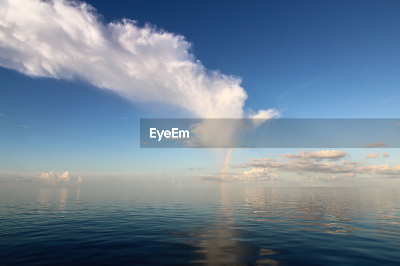 sky, cloud - sky, water, smoke - physical structure, nature, pollution, scenics - nature, no people, emitting, motion, tranquility, waterfront, sea, environmental issues, beauty in nature, day, smoke, outdoors, environment, air pollution, fumes, power in nature, vapor trail