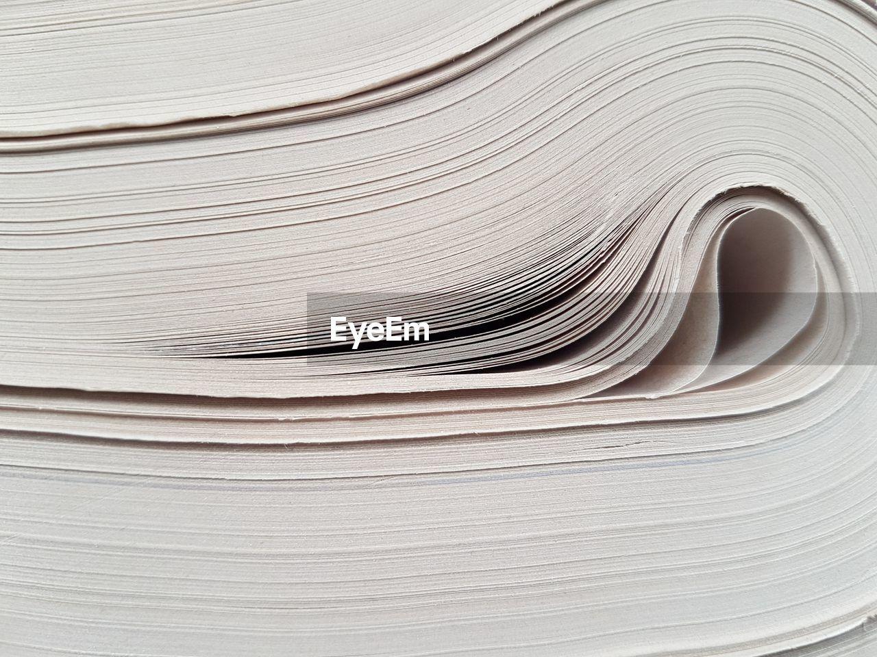 Full frame shot of papers