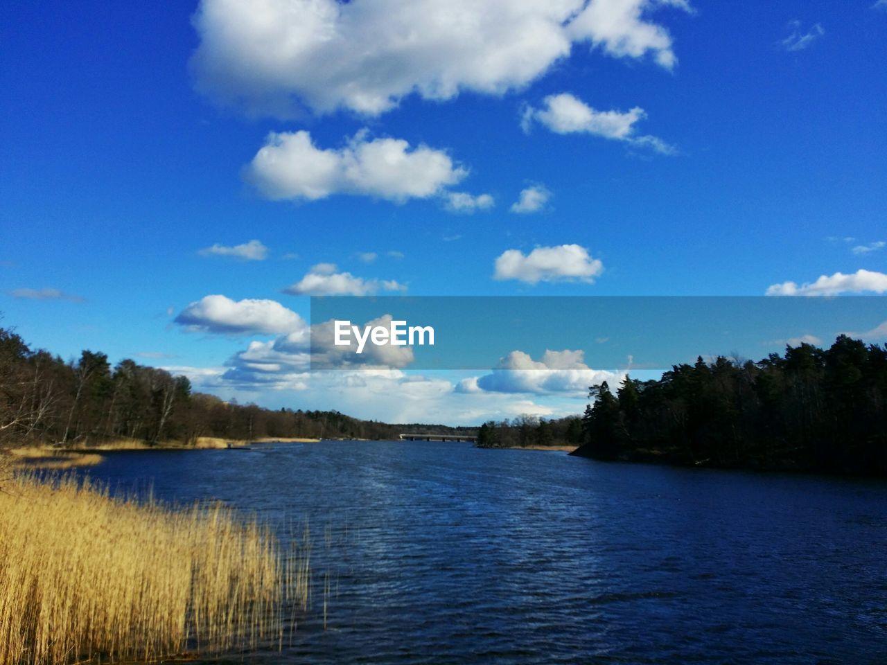 Idyllic Landscape With Lake