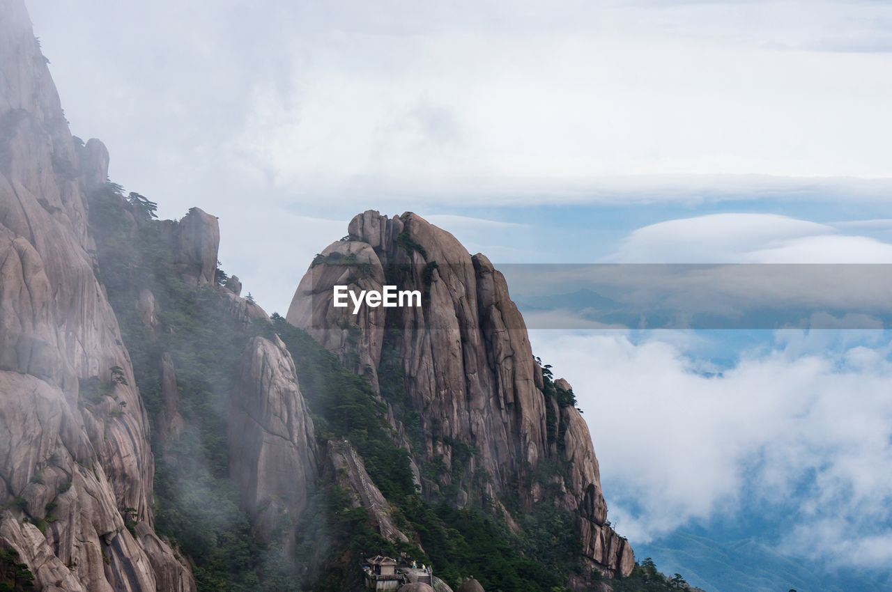 VIEW OF A MOUNTAIN