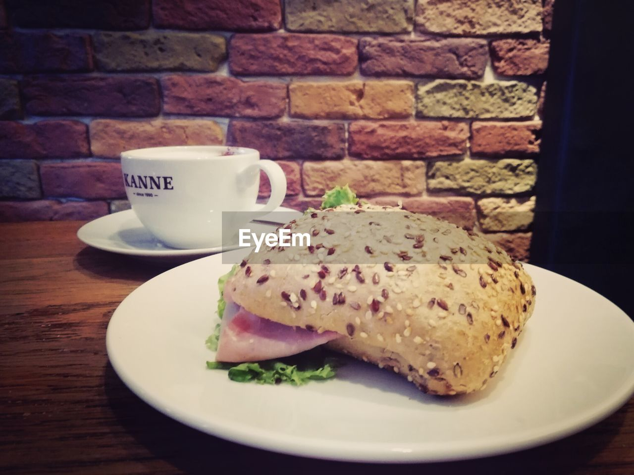 food and drink, freshness, food, indoors, coffee cup, table, drink, close-up, plate, coffee - drink, refreshment, bread, no people, breakfast, healthy eating, ready-to-eat, day