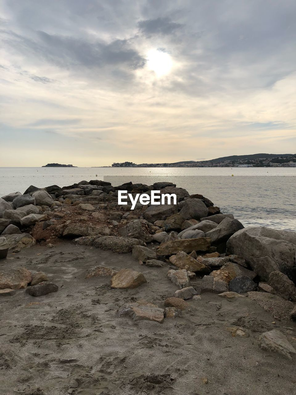 sky, sea, water, cloud - sky, rock, solid, beauty in nature, scenics - nature, sunset, rock - object, land, tranquility, beach, tranquil scene, nature, horizon, no people, horizon over water, non-urban scene, outdoors, rocky coastline