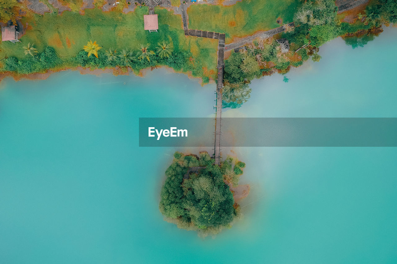 Directly Above Shot Of Lake