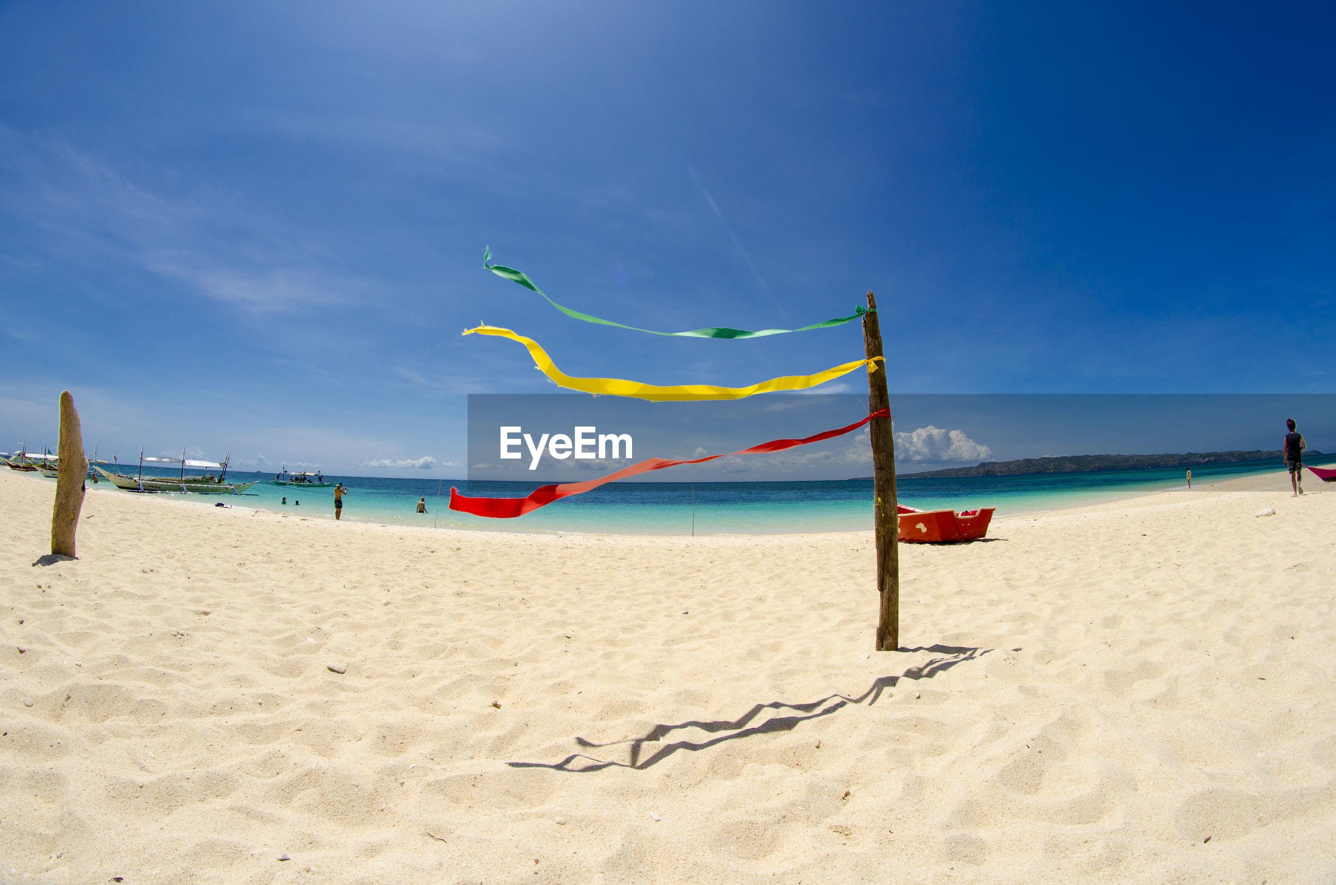 SCENIC VIEW OF CALM BEACH