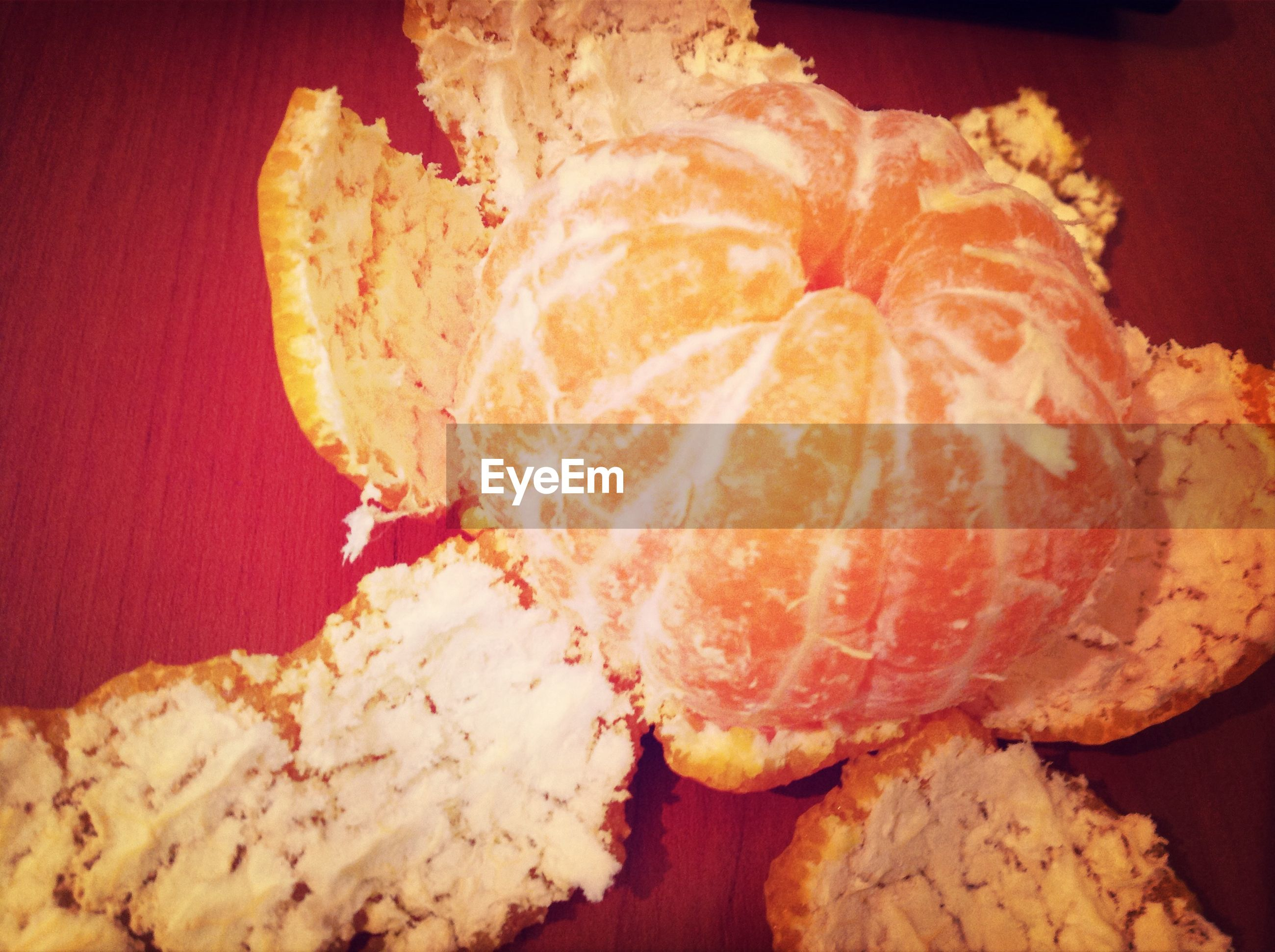 indoors, food, still life, food and drink, close-up, freshness, no people, red, brown, unhealthy eating, orange color, table, ready-to-eat, high angle view, indulgence, bread, sweet food, baked, textured, wood - material