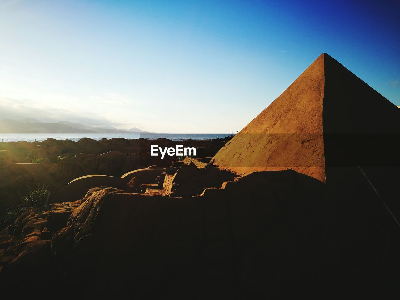 travel destinations, day, outdoors, built structure, nature, sky, pyramid, no people, clear sky, architecture, ancient civilization