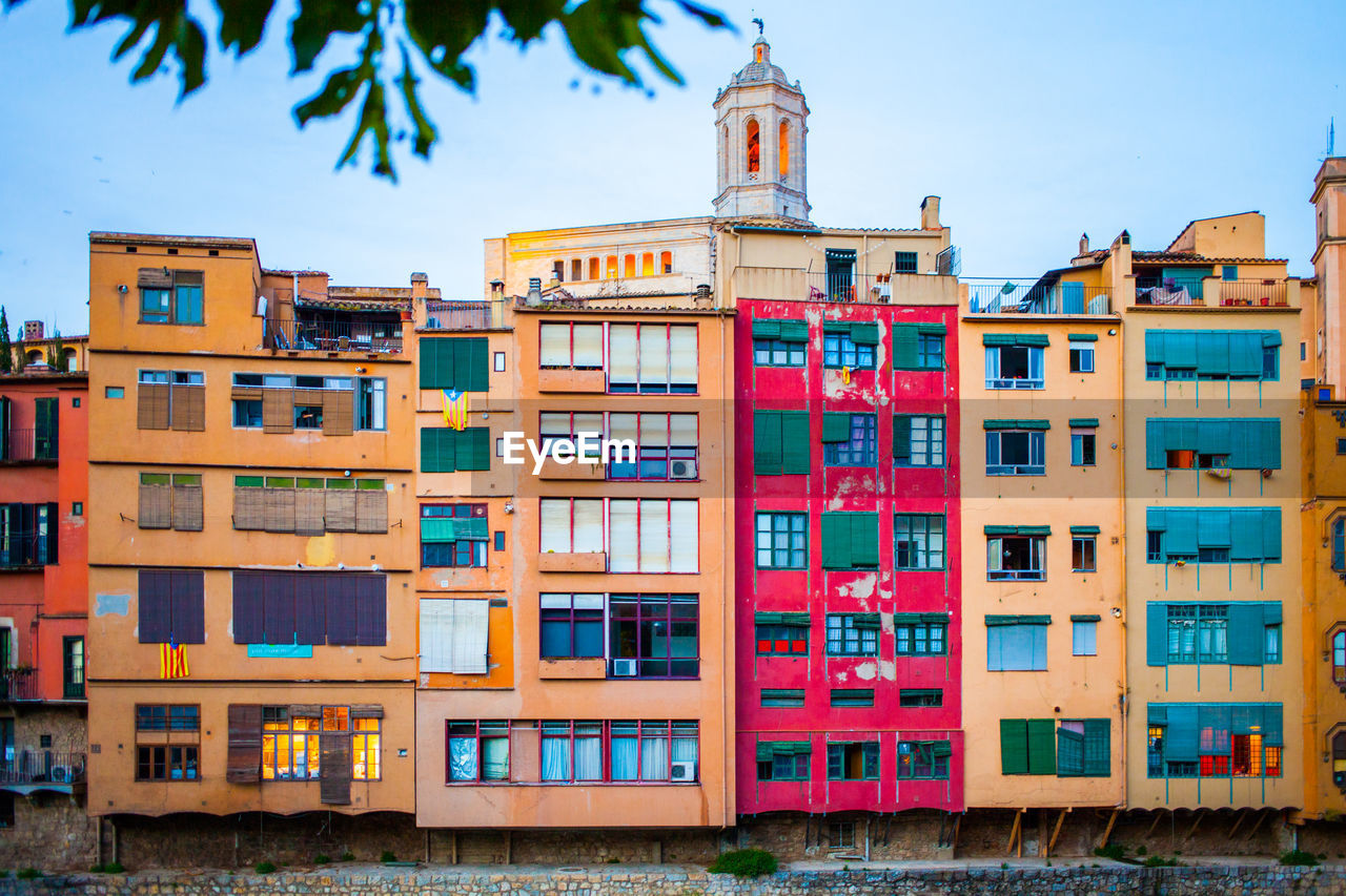 MULTI COLORED BUILDING