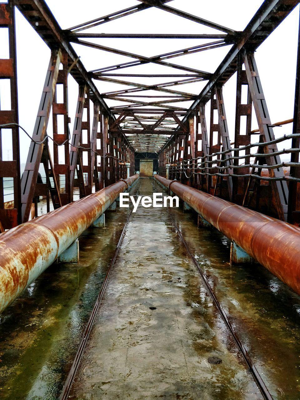 Pipes On Bridge