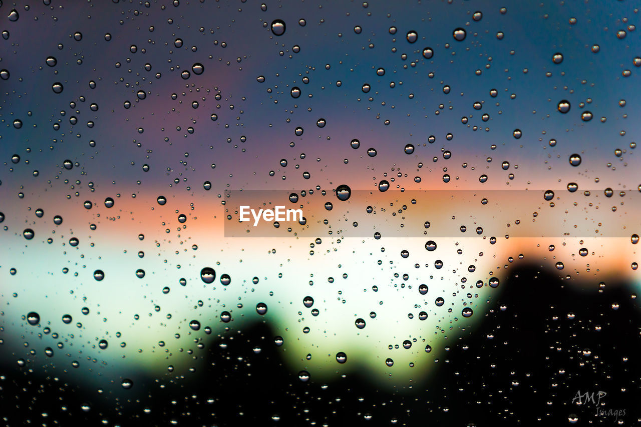 drop, window, no people, water, wet, indoors, nature, close-up, backgrounds, raindrop, sunset, day, sky