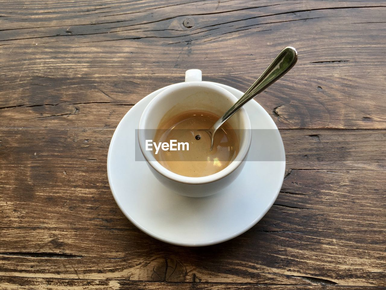 table, food and drink, refreshment, drink, wood - material, high angle view, no people, indoors, saucer, freshness, close-up, tea - hot drink, healthy eating, day