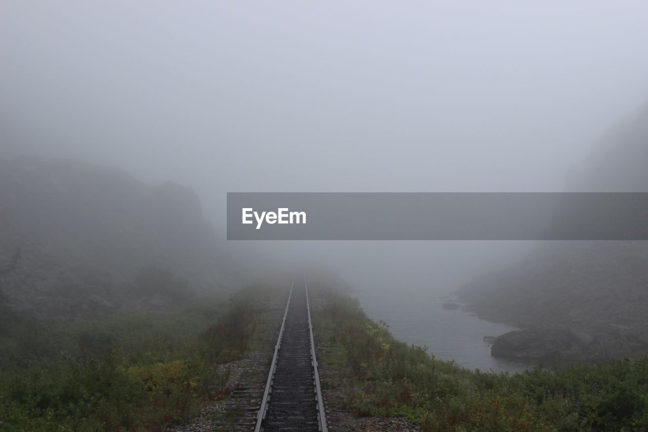 fog, foggy, transportation, mist, the way forward, weather, outdoors, nature, landscape, no people, day, mountain, tranquility, beauty in nature, scenics, sky