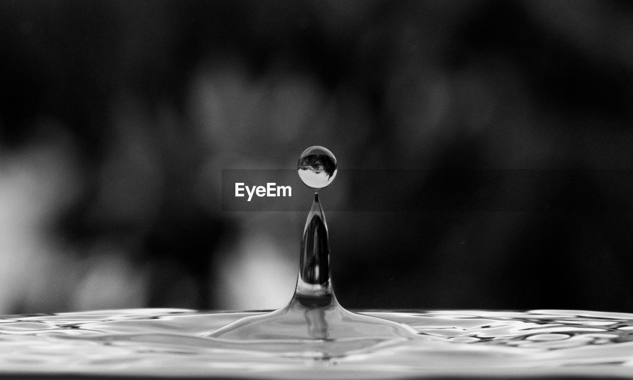 Close-Up Of Water Drop