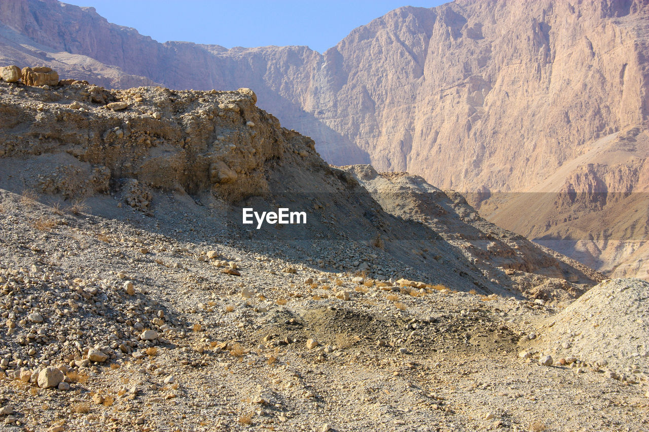 mountain, nature, mountain range, scenics, landscape, day, rock - object, beauty in nature, outdoors, tranquil scene, physical geography, tranquility, arid climate, no people, sky