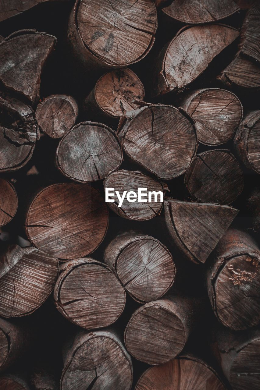 full frame, log, timber, wood, large group of objects, stack, wood - material, backgrounds, firewood, abundance, heap, close-up, no people, lumber industry, deforestation, brown, pattern, shape, detail, textured, woodpile