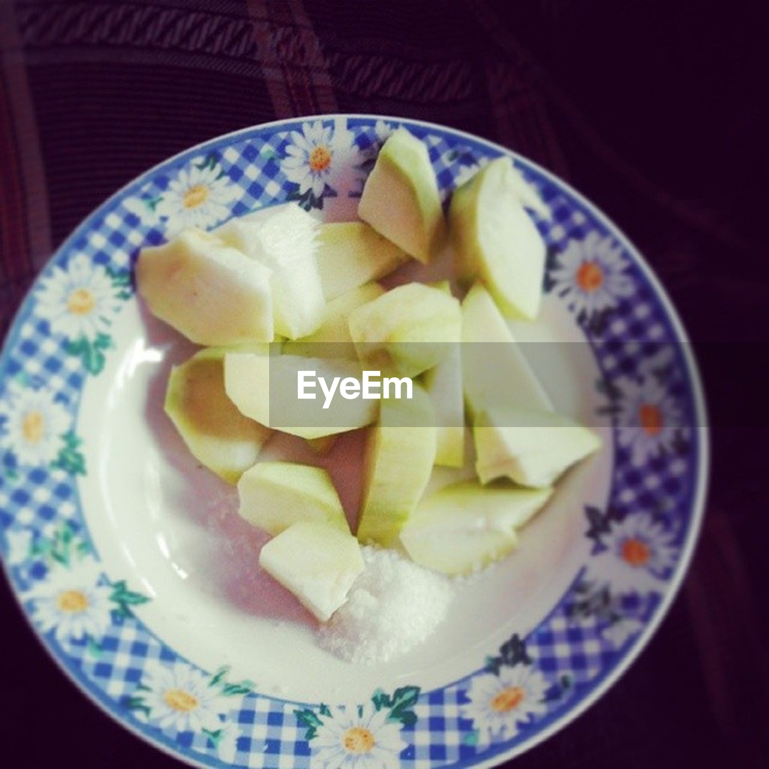 food and drink, food, indoors, freshness, plate, ready-to-eat, still life, sweet food, indulgence, close-up, bowl, healthy eating, dessert, table, high angle view, temptation, serving size, directly above, no people