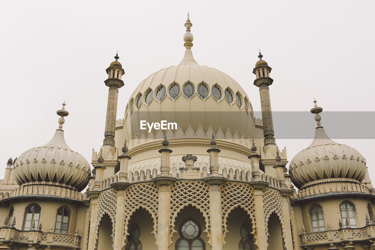 Low Angle View Of Royal Pavilion Against Clear Sky
