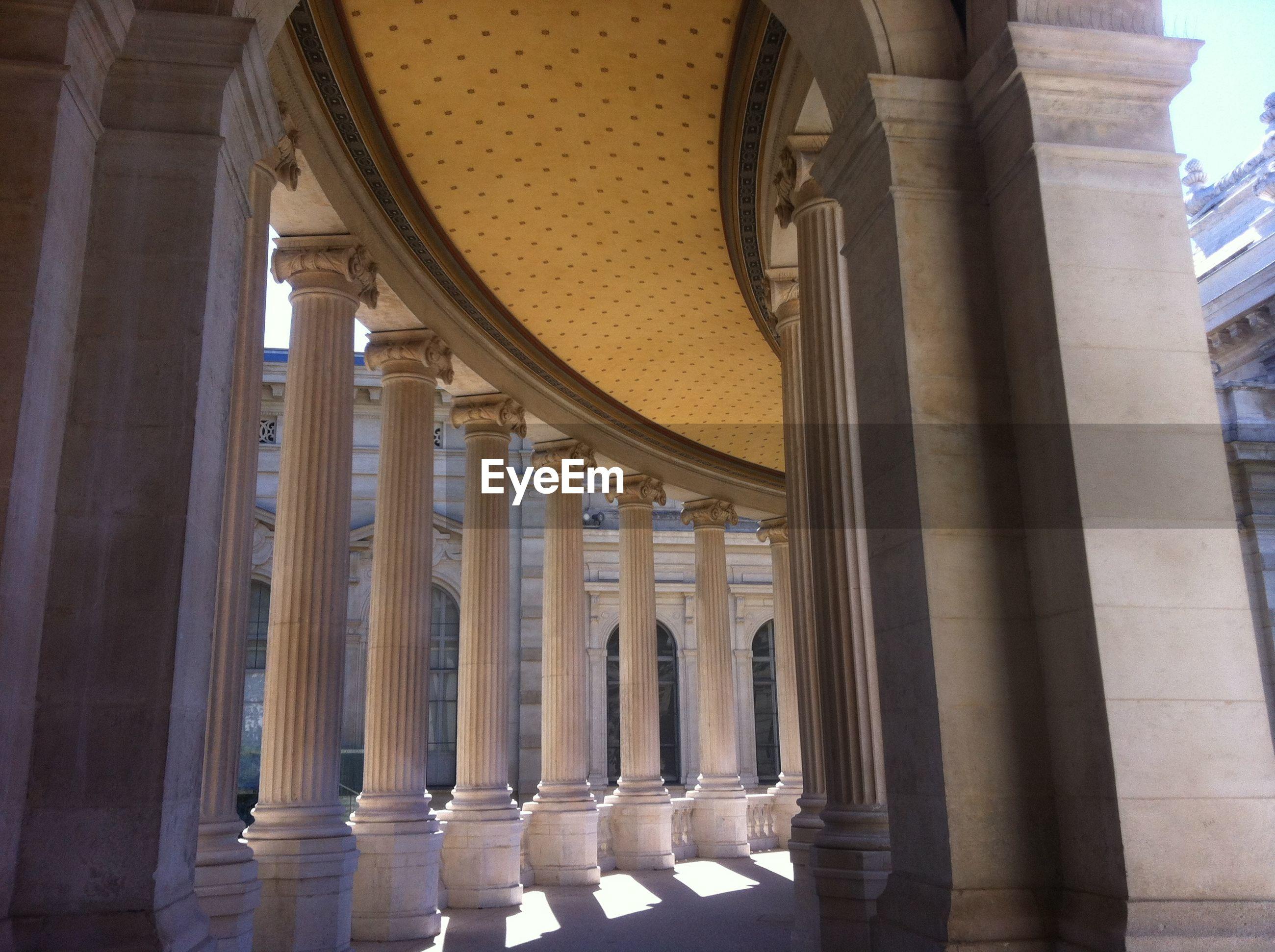 Colonnade at palais longchamp