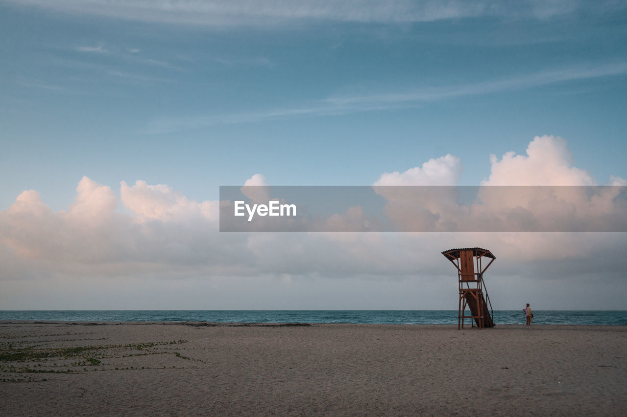 sea, water, sky, beach, land, horizon, horizon over water, cloud - sky, scenics - nature, beauty in nature, tranquil scene, tranquility, nature, sand, non-urban scene, day, outdoors, idyllic, safety