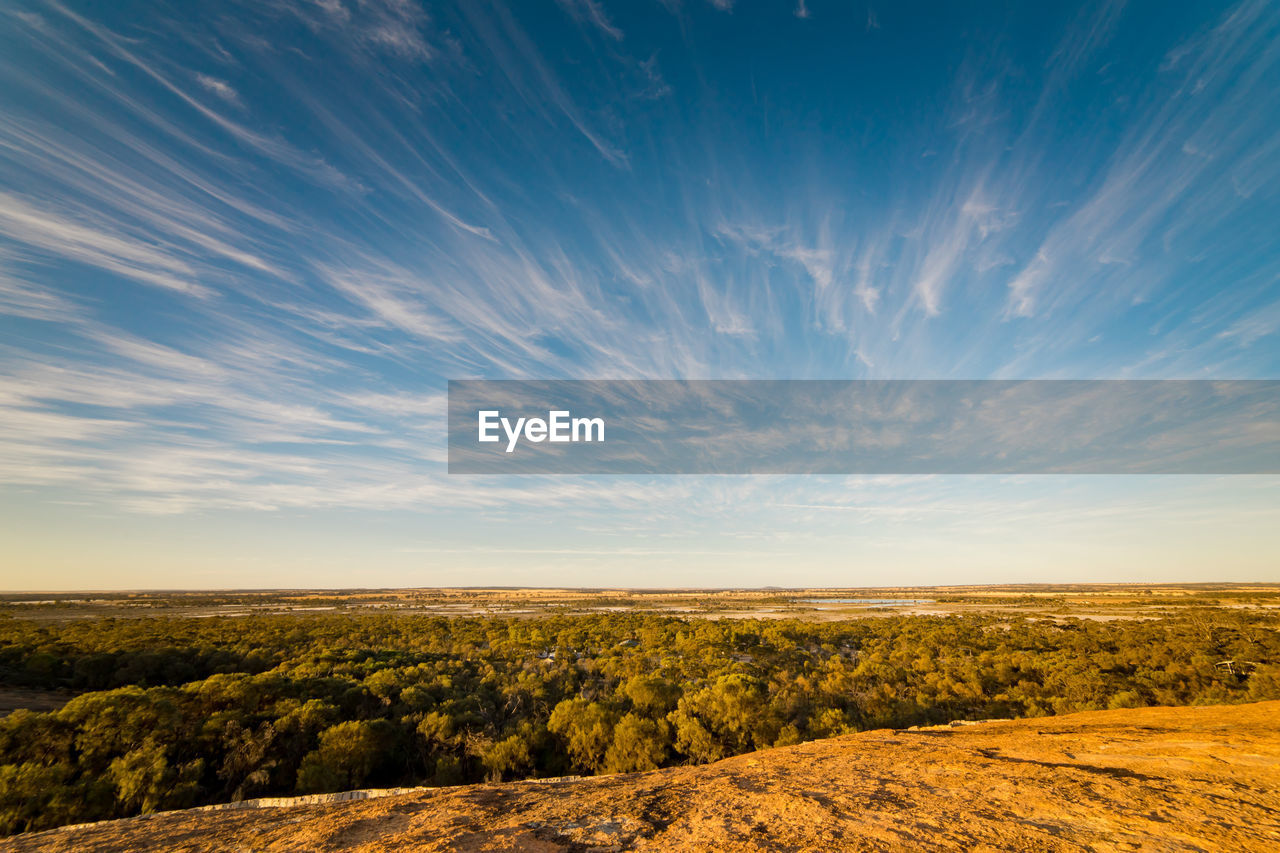 sky, environment, scenics - nature, landscape, beauty in nature, tranquil scene, cloud - sky, tranquility, non-urban scene, no people, nature, land, field, horizon over land, idyllic, horizon, outdoors, remote, sunset, day, arid climate