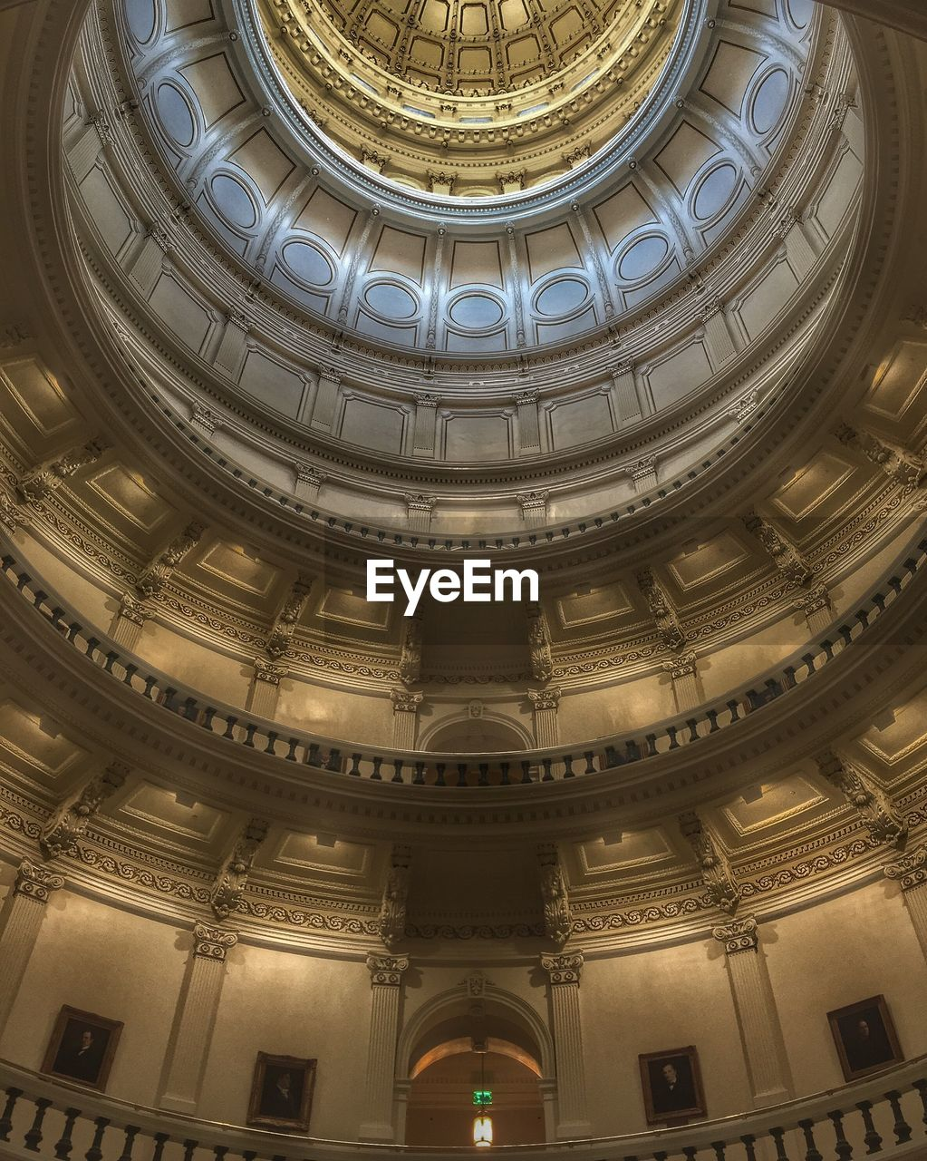 architecture, built structure, dome, indoors, no people, ornate, architectural feature, low angle view, travel destinations, cupola, day