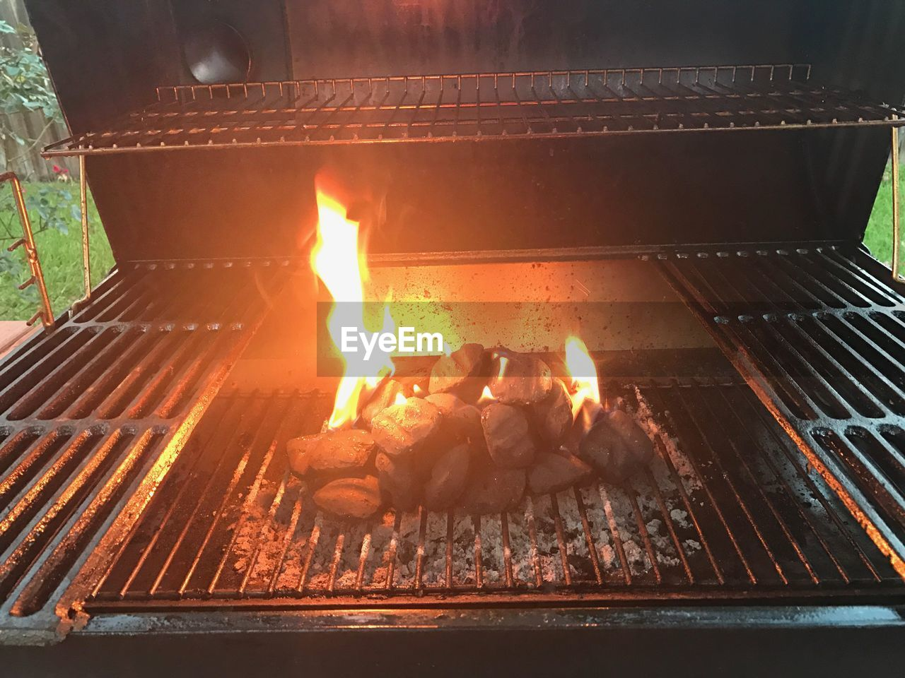 fire - natural phenomenon, flame, heat - temperature, burning, glowing, barbecue grill, barbecue, fire pit, outdoors, bonfire, campfire, preparation, motion, night, no people, food