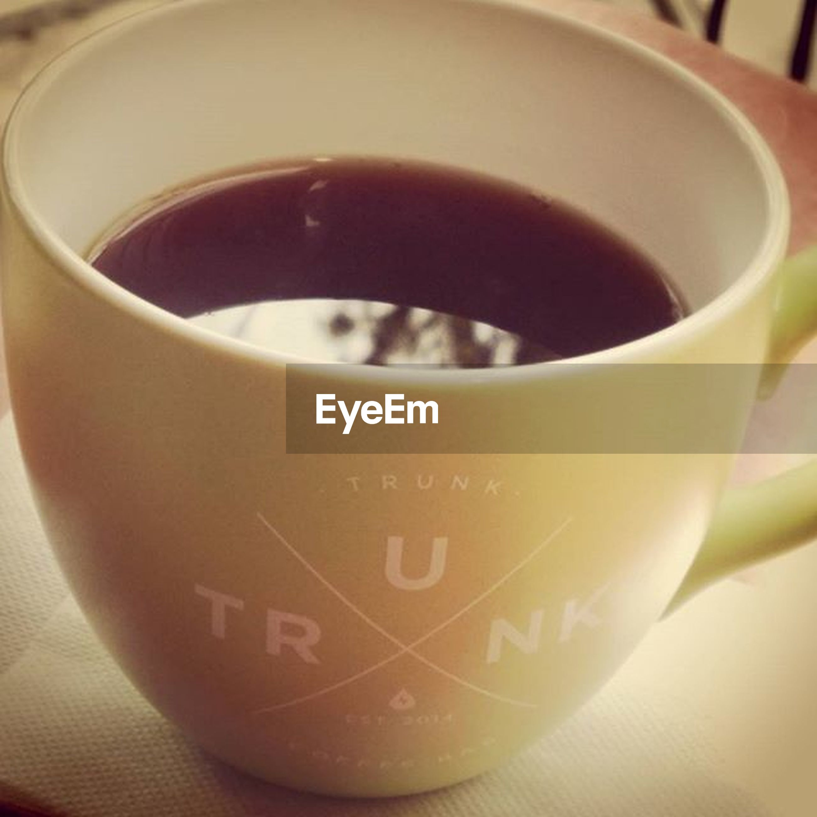 food and drink, drink, indoors, close-up, text, refreshment, freshness, communication, western script, still life, coffee cup, table, focus on foreground, coffee - drink, no people, healthy eating, coffee, cup, frothy drink, saucer