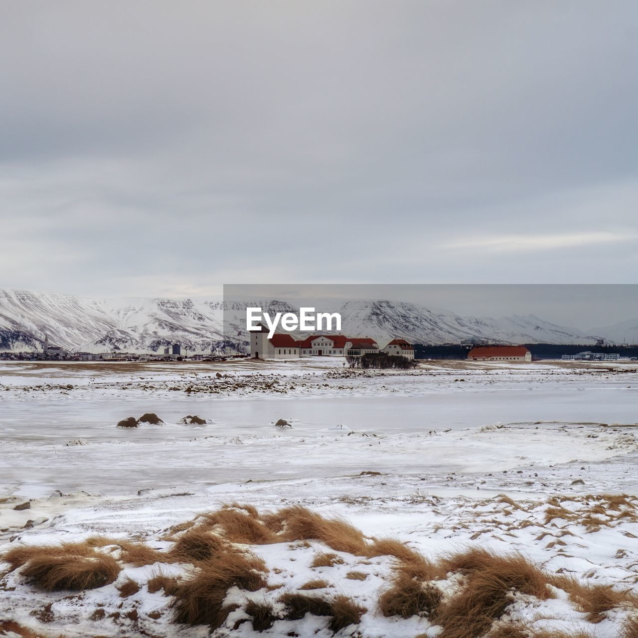 cold temperature, winter, snow, weather, nature, frozen, beauty in nature, ice, tranquility, sky, no people, tranquil scene, scenics, outdoors, white color, cold, cloud - sky, day, landscape, frost, water, snowcapped mountain, mountain, snowdrift, tree, iceberg