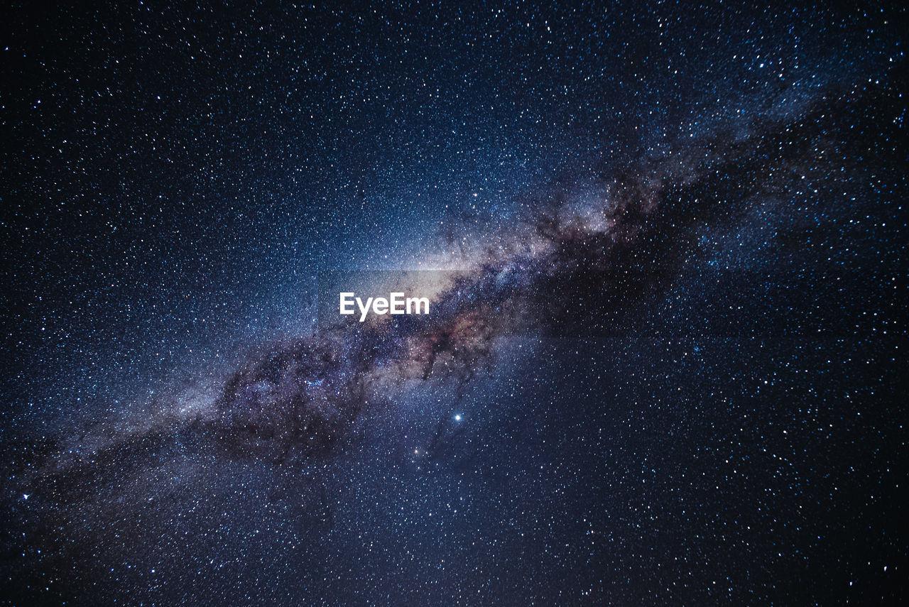 Full frame shot of stars at night