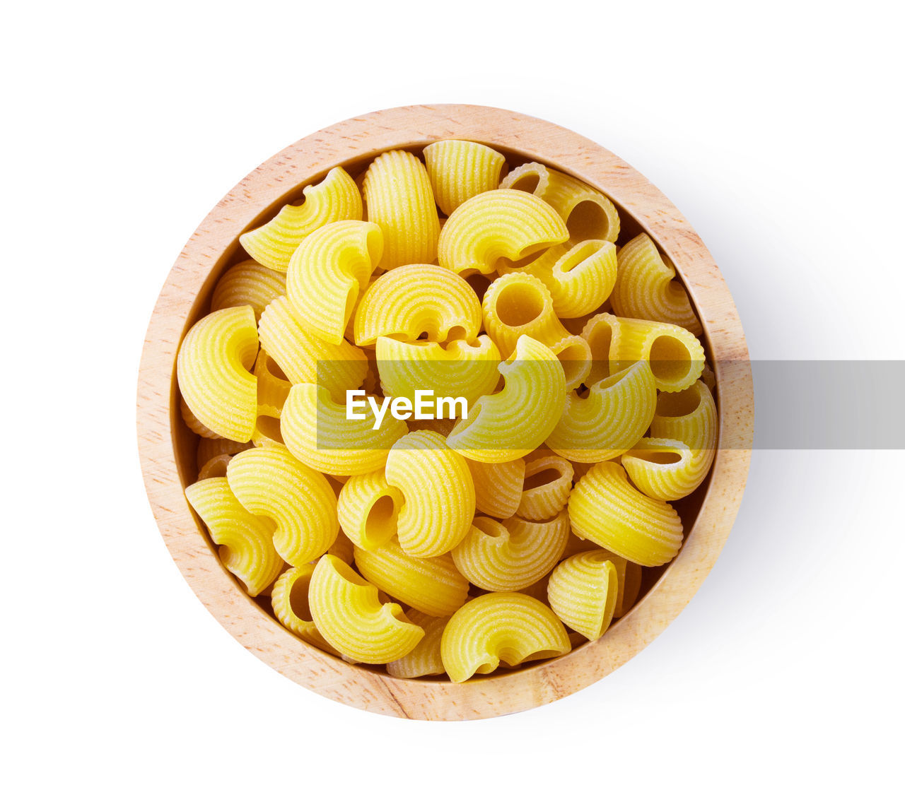 food and drink, food, white background, studio shot, italian food, indoors, freshness, pasta, directly above, still life, cut out, raw food, healthy eating, wellbeing, no people, shape, yellow, large group of objects, circle, geometric shape, snack, temptation