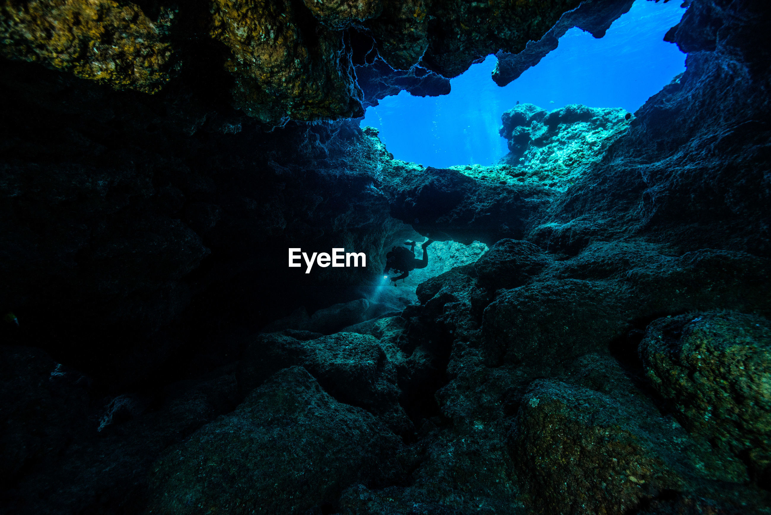 View of unerwater scenery